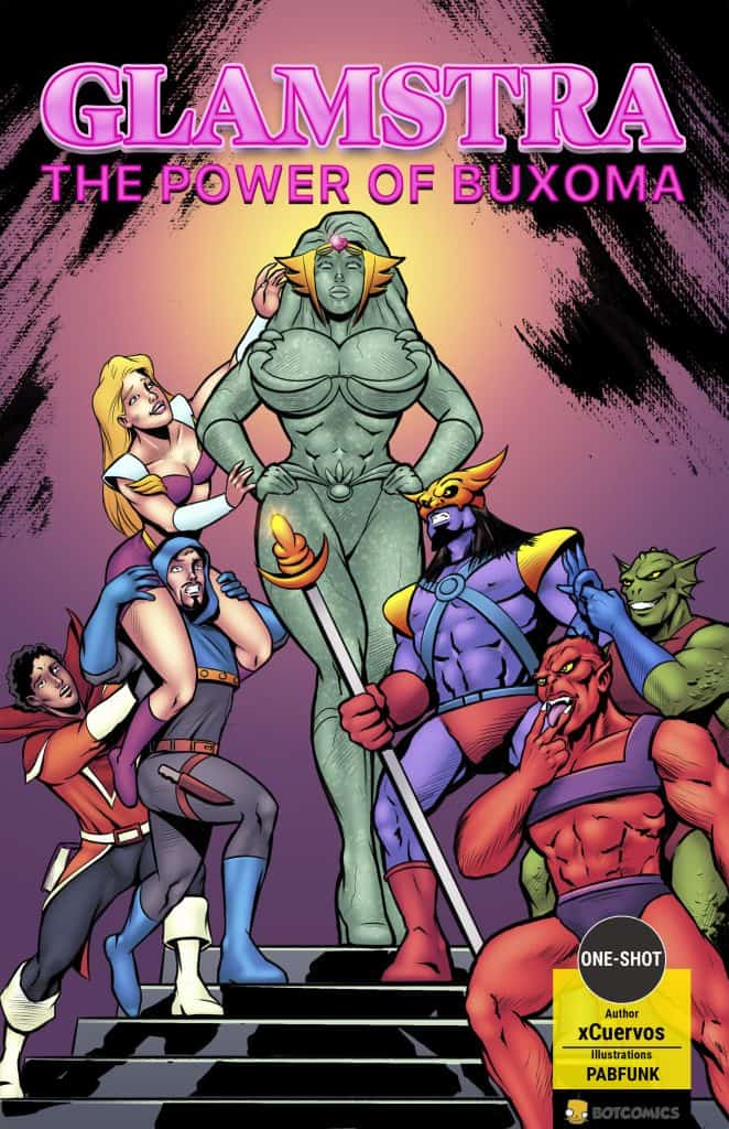 Glamstra-The-Power-of-Buxoma_Cover